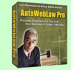 AutoWebLaw Pro, protect yourself before it's too late.