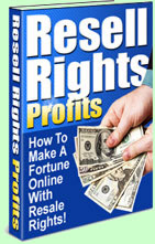 How to make a fortune online with Resell Rights.